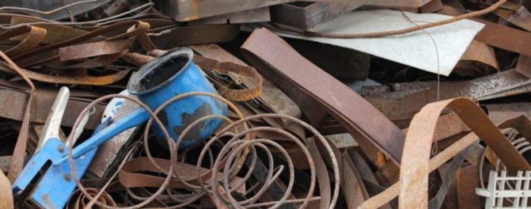 Container für Anlieferung von Metallschrott